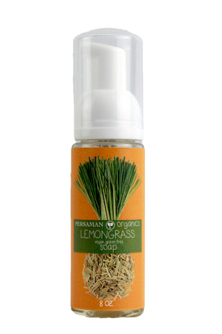 Organic Lemongrass Liquid Soap