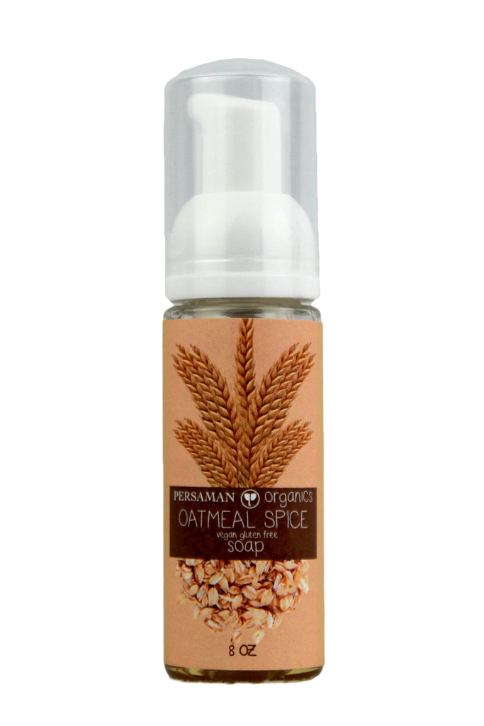 Organic Oatmeal Spice Liquid Soap
