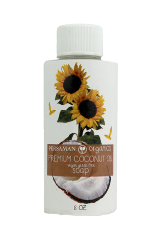 Organic Premium Coconut Oil Liquid Soap