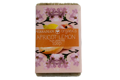 Organic Apricot Lemon Soap Bar