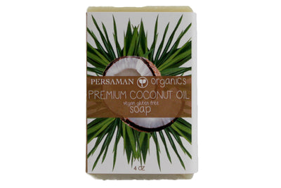 Organic Premium Coconut Oil Soap Bar