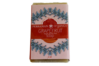 Organic Grapefruit Soap Bar