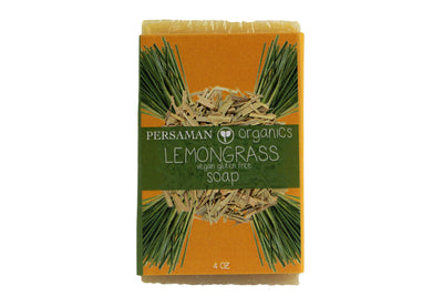 Organic Lemongrass Soap Bar