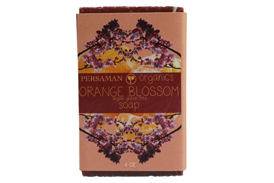 Organic Orange Blossom Soap Bar