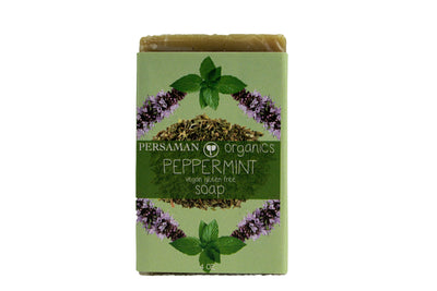 Organic Peppermint Soap Bar