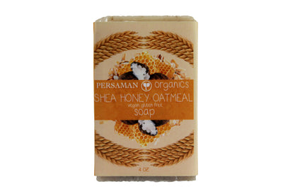 Organic Shea Honey Oatmeal Soap Bar