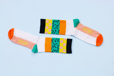 OUR NEW SOCK COLLECTION WITH RACHEL KELLY