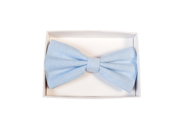 BOW TIE IN SKY BLUE