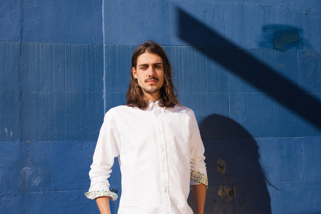 RELAXED OXFORD SHIRT IN WHITE