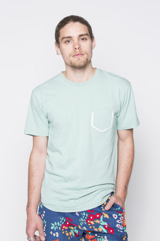THE T-SHIRT WITH POCKET IN MINT