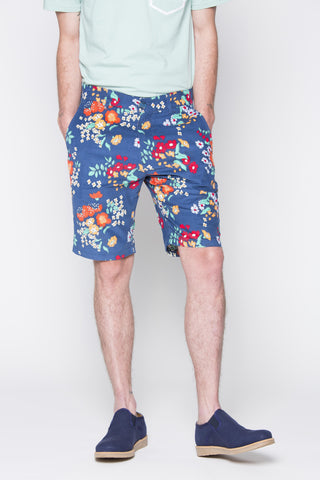 THE CALI CHINO SHORTS IN FLORAL CORDUROY