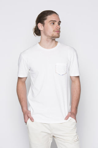 THE T-SHIRT WITH POCKET IN WHITE