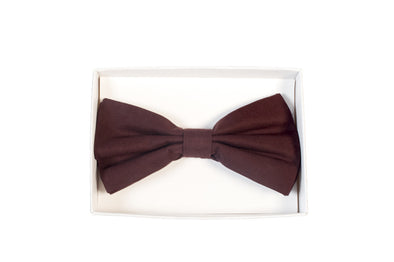 BOW TIE IN MAROON