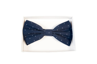 BOW TIE IN NAVY STAR PRINT