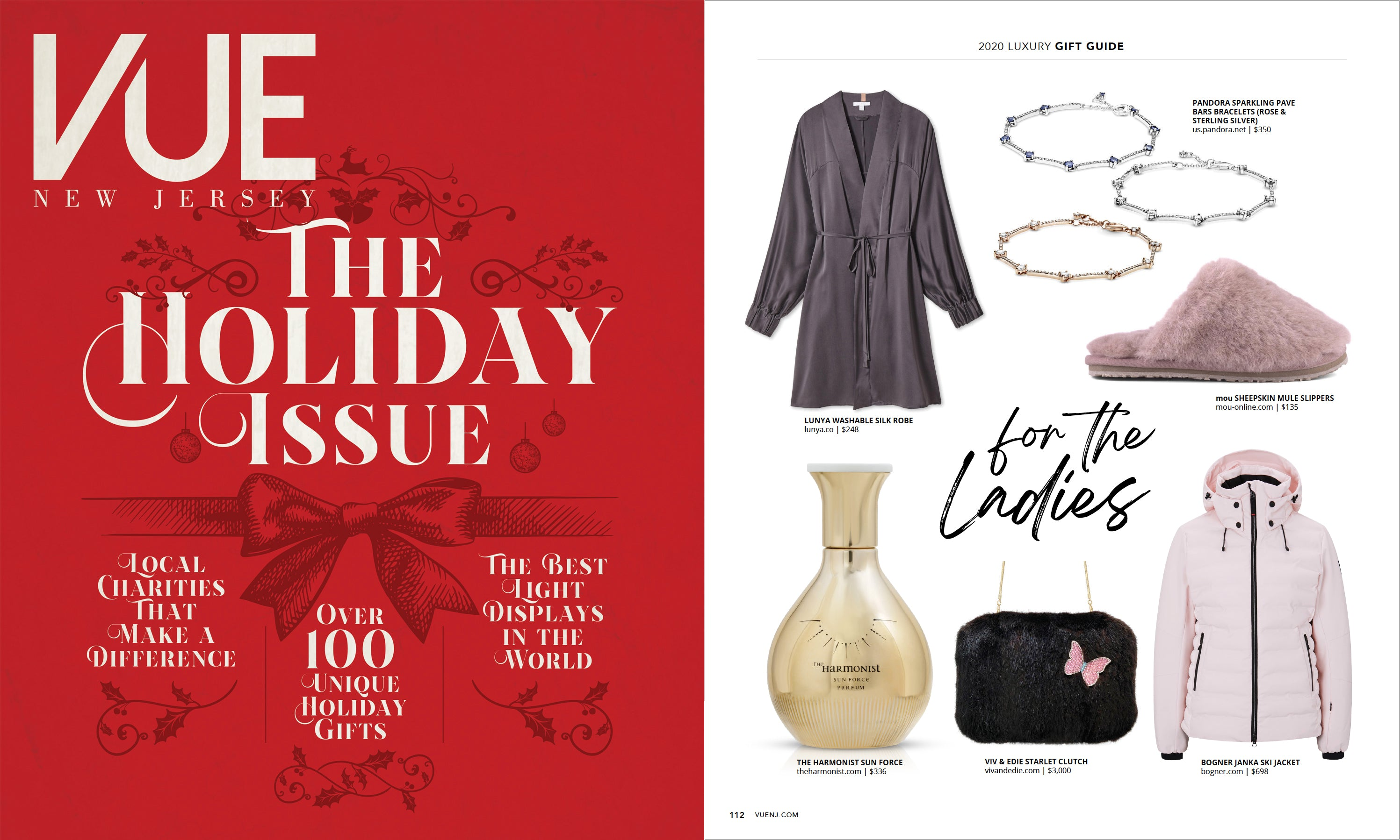 VUE New Jersey Magazine, Holiday 2020 issue