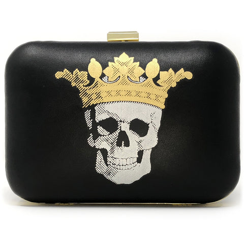 Queen of Darkness clutch front