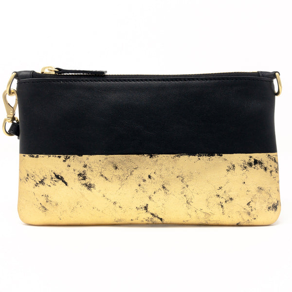 Little Zippy Wristlet in Goldfinger