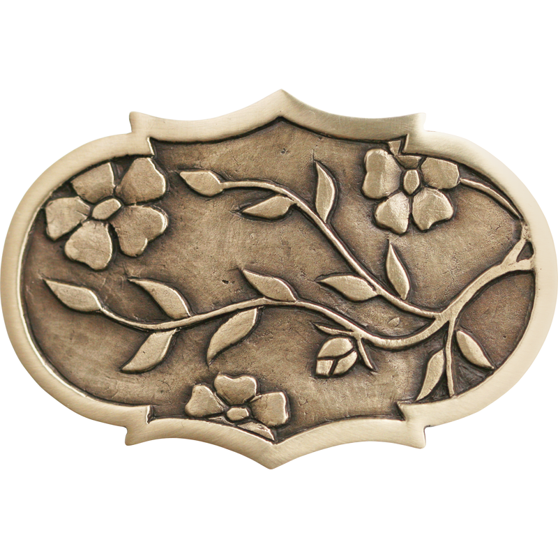 Flowers & Branches Belt Buckle