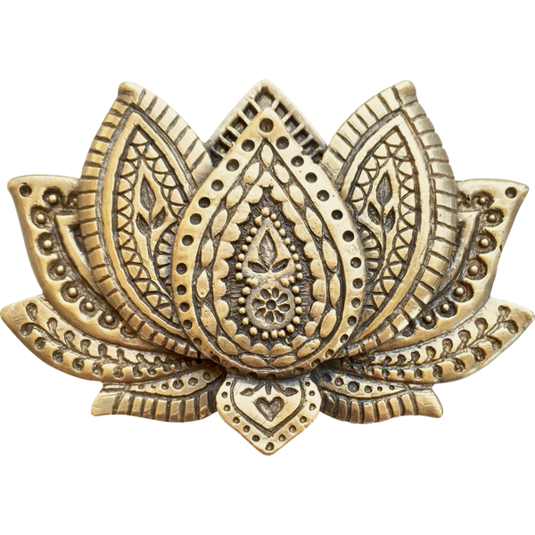 Lotus Belt Buckle