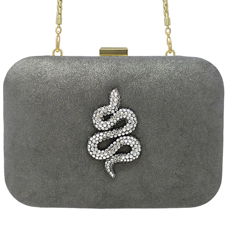 """Come Slither"" clutch"