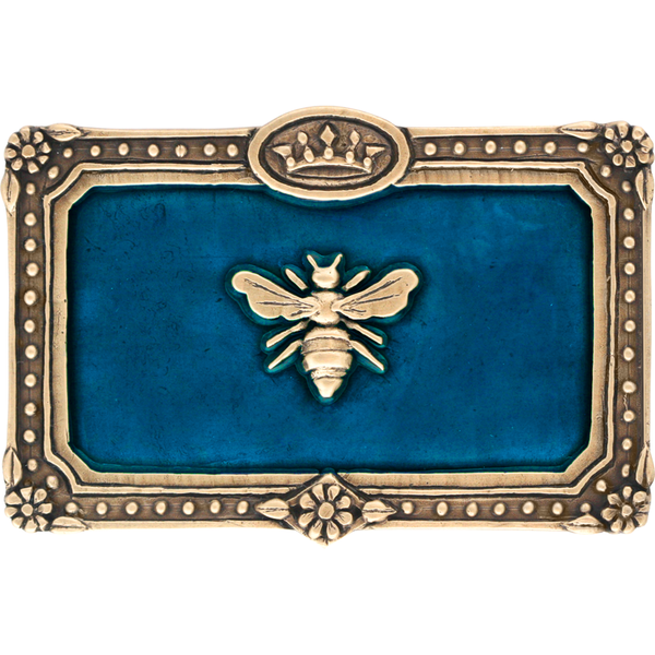 Queen Bee Belt Buckle Colored