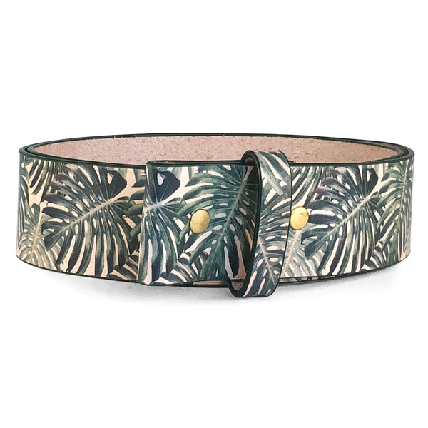 Palm Leaves Belt
