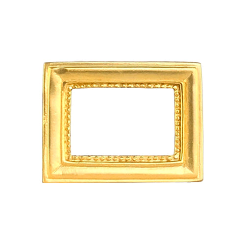 Gold Picture Frame Belt Buckle