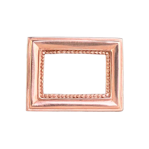 Rose Gold Picture Frame Belt Buckle