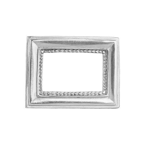 Silver Picture Frame Belt Buckle