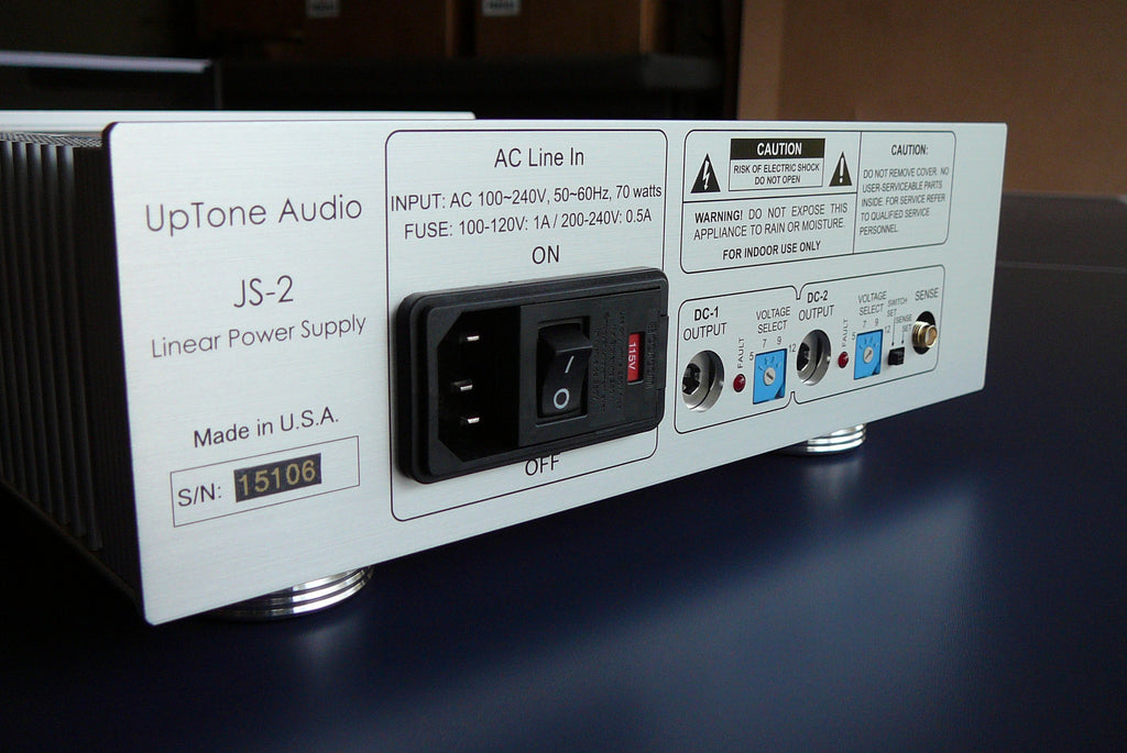 JS-2 Linear Power Supply – UpTone Audio