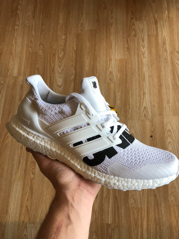 "Adidas Ultra Boost White ""Undefeated"""
