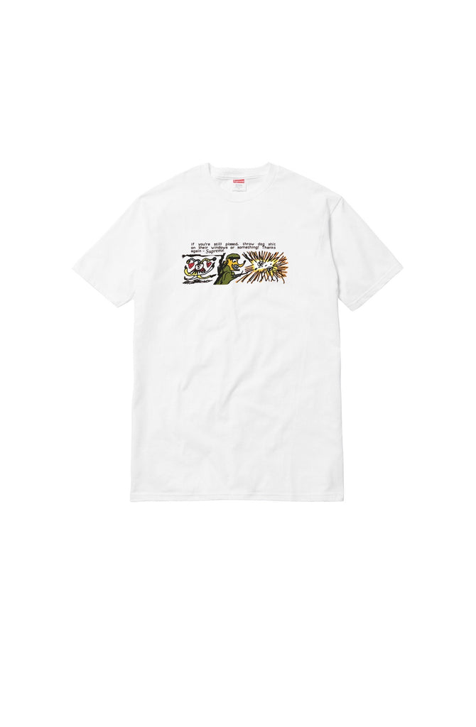 Supreme Dog Shit Tee White