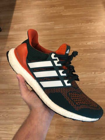 Adidas Ultraboost Player Exclusive Miami Hurricanes