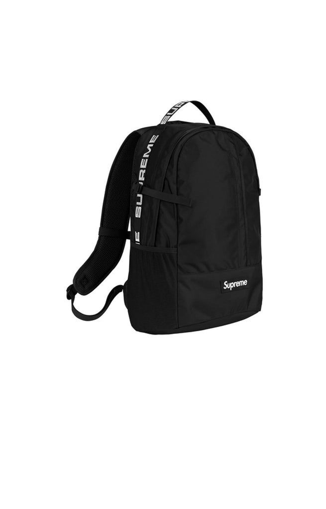 Supreme SS18 Backpack Black
