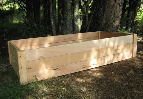 Raised Garden Box 2m x 1m x 420mm high