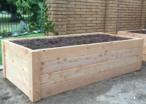 Kitset raised garden box 2m x 1m x 560mm high urbanmac for Home garden box design