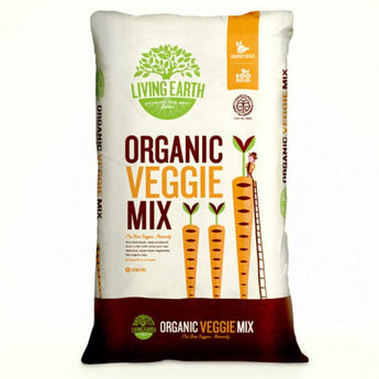 Living Earth Organic Veggie Mix 40 litre