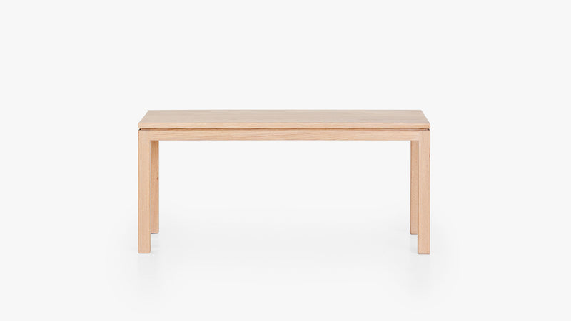 Classic Bench - 1000w in American Oak with Osmo Raw finish