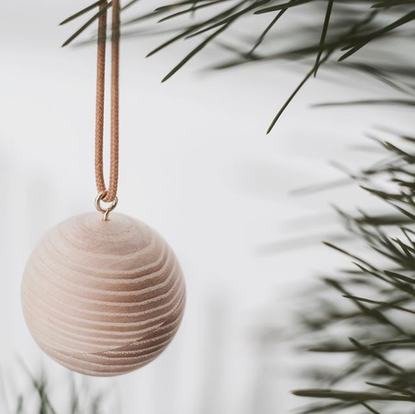 Timber Ornament Set