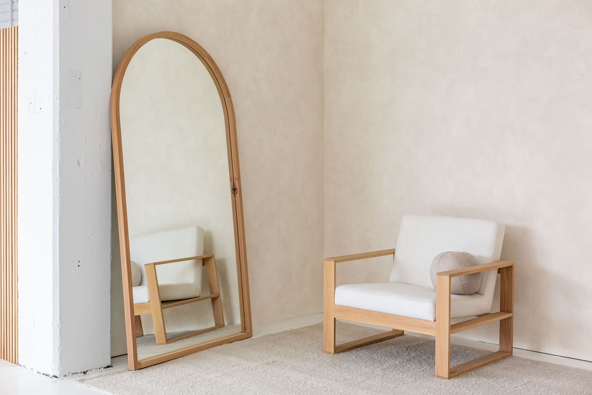 Arch Floor Mirror Mr And Mrs White