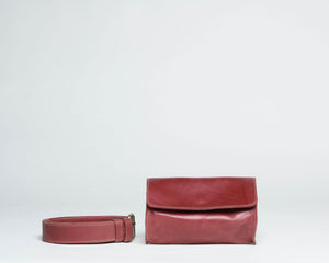 Bintu Barrel Fanny Pack -  Red - UnoEth