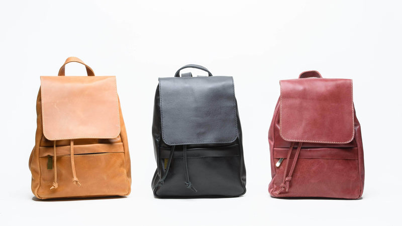 Mini Enku Leather Backpack - UnoEth