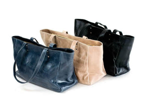 Sheba Leather Tote - UnoEth
