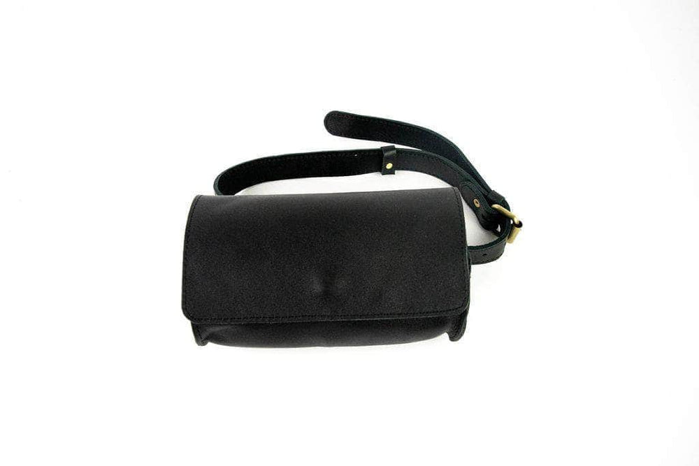 Bintu Barrel Fanny Pack - Black - UnoEth