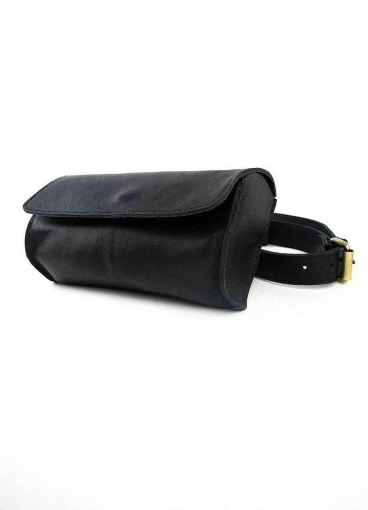 Bintu Barrel Fanny Pack - Black