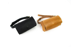 Load image into Gallery viewer, Bintu Barrel Fanny Pack - Black - UnoEth