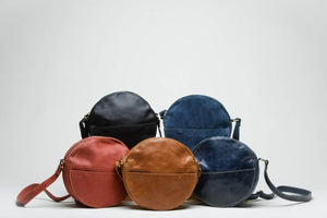 Zuri Circle Bag - Red - UnoEth