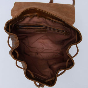 Load image into Gallery viewer, Enku Leather Backpack - Walnut - UnoEth