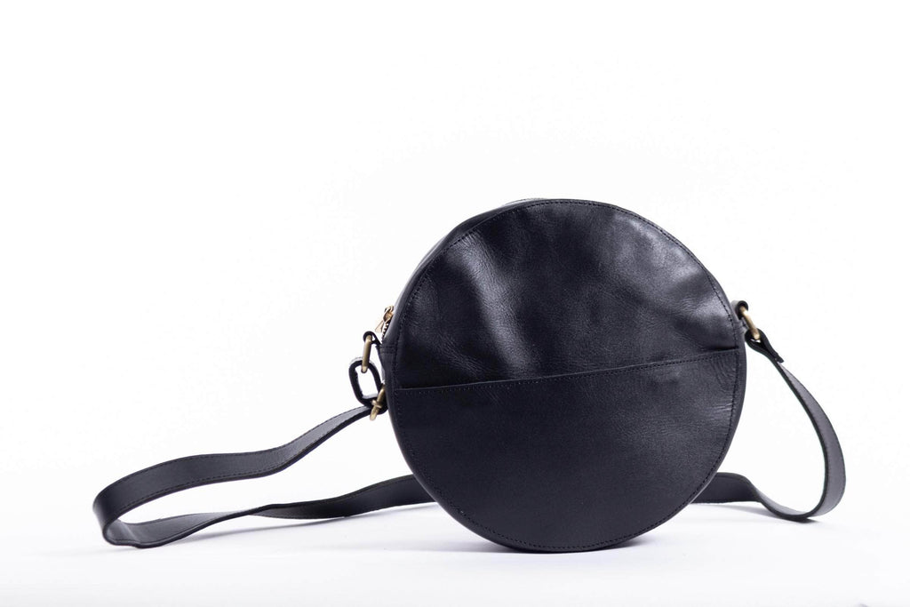 Zuri Circle Bag - Black - UnoEth