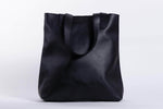 Hanna Leather Tote - Black
